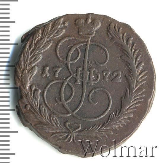2 копейки 1772 г. ЕМ. Екатерина II