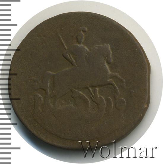 1 копейка 1767 г. СПМ. Екатерина II Буквы СПМ
