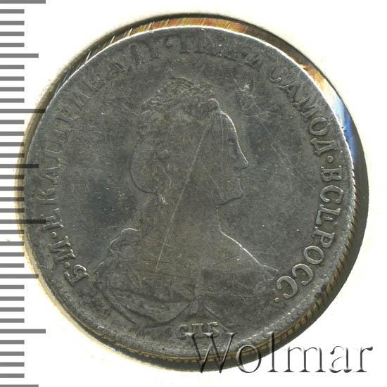 Полтина 1779 г. СПБ ФЛ. Екатерина II