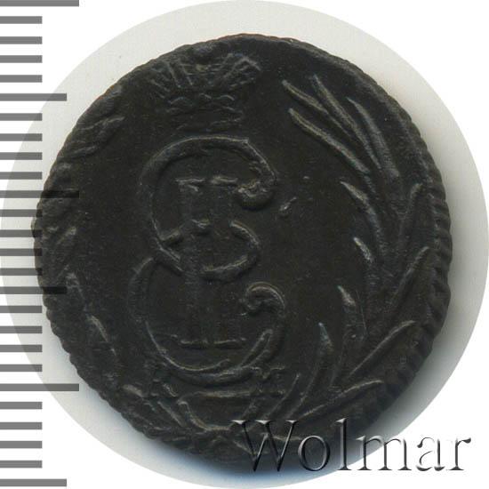 Полушка 1775 г. КМ. Сибирская монета (Екатерина II) Тиражная монета