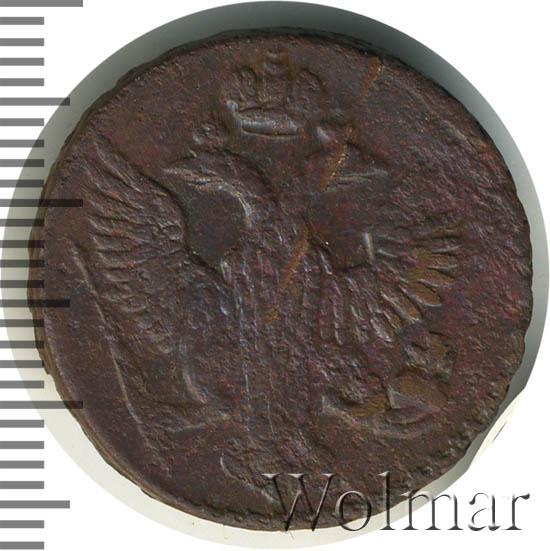 Денга 1753 г. Елизавета I