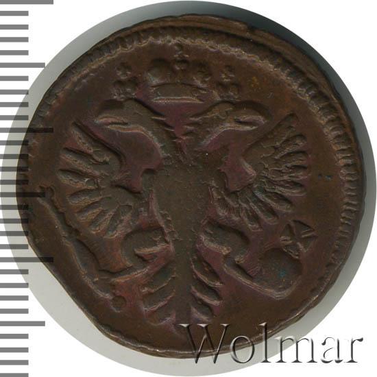 Денга 1734 г. Анна Иоанновна Красный монетный двор