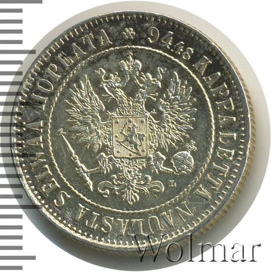 1 марка 1908 г. L. Для Финляндии (Николай II)