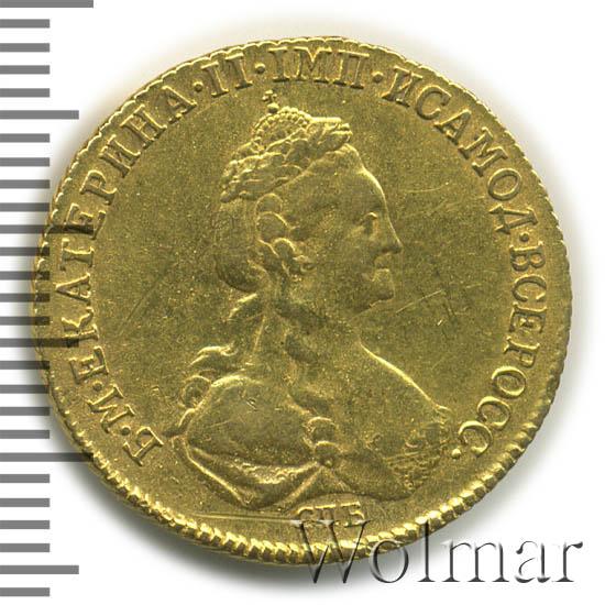 5 рублей 1778 г. СПБ. Екатерина II
