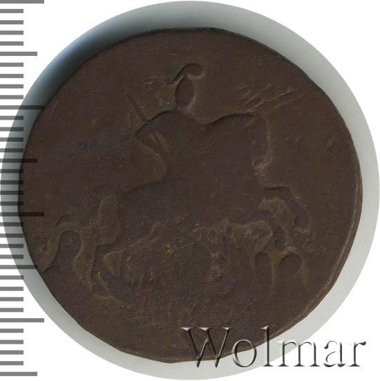 2 копейки 1788 г. ММ. Екатерина II Буквы ММ. Узорный гурт шестого типа