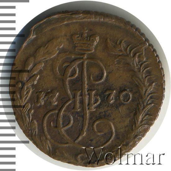Денга 1770 г. ЕМ. Екатерина II.