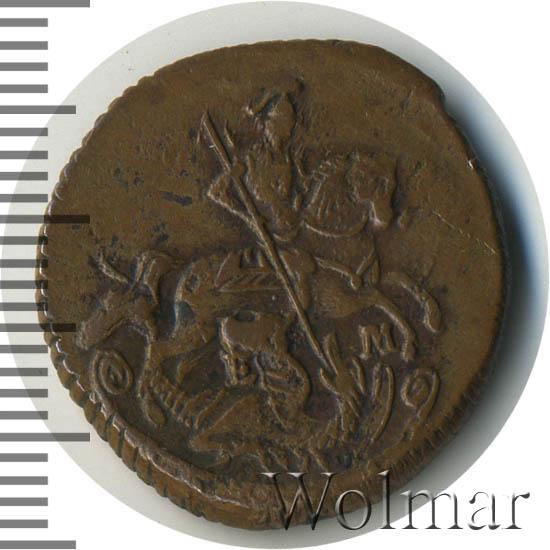 Денга 1770 г. ЕМ. Екатерина II