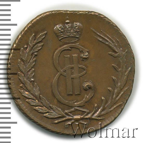 1 копейка 1764 г. Сибирская монета (Екатерина II) Тиражная монета