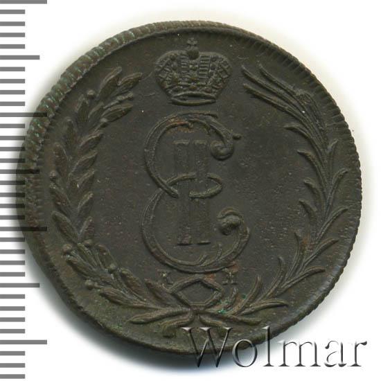 2 копейки 1777 г. КМ. Сибирская монета (Екатерина II). Тиражная монета