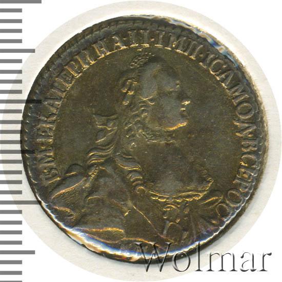20 копеек 1766 г. ММД. Екатерина II. Красный монетный двор