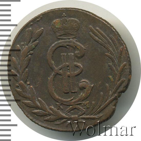 1 копейка 1776 г. КМ. Сибирская монета (Екатерина II) Тиражная монета