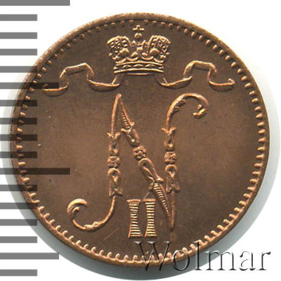 1 пенни 1898 г. Для Финляндии (Николай II)