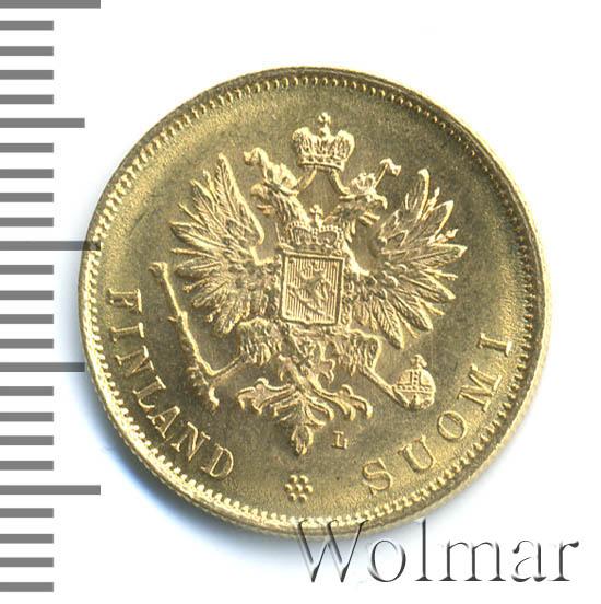 10 марок 1904 г. L. Для Финляндии (Николай II)