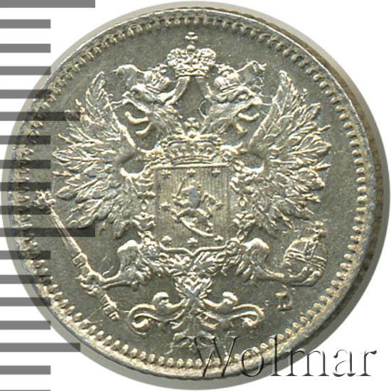 25 пенни 1897 г. L. Для Финляндии (Николай II)