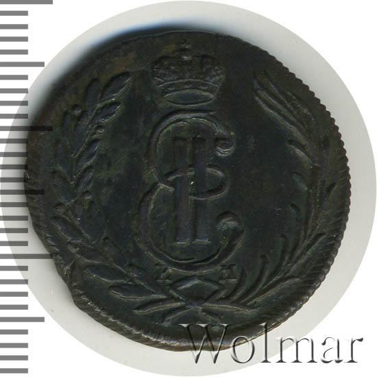 1 копейка 1771 г. КМ. Сибирская монета (Екатерина II) Тиражная монета