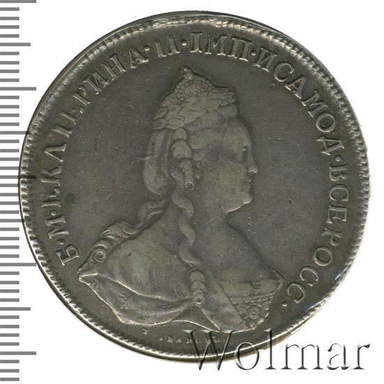 1 рубль 1789 г. СПБ АЯ. Екатерина II.