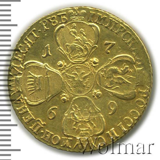 10 рублей 1769 г. СПБ. Екатерина II.