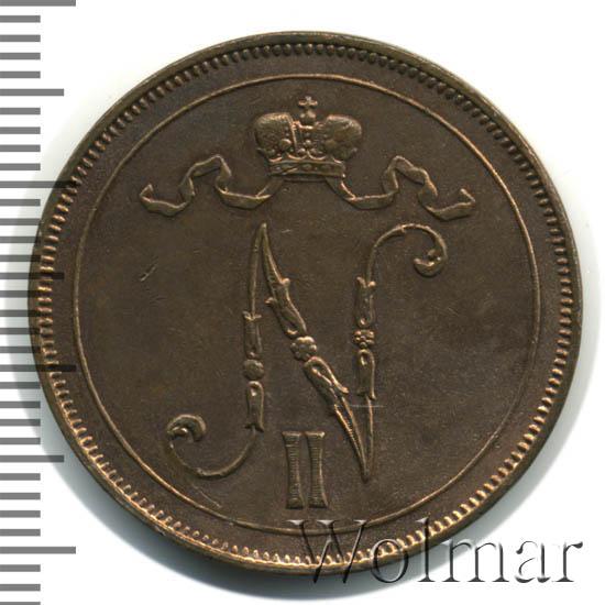 10 пенни 1900 г. Для Финляндии (Николай II)