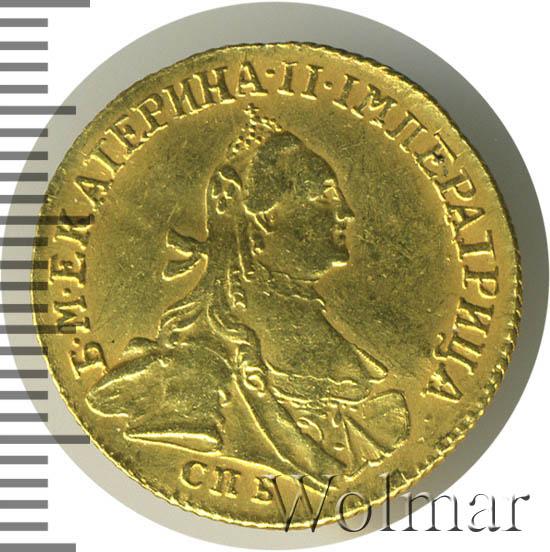 1 червонец 1763 г. СПБ. Екатерина II