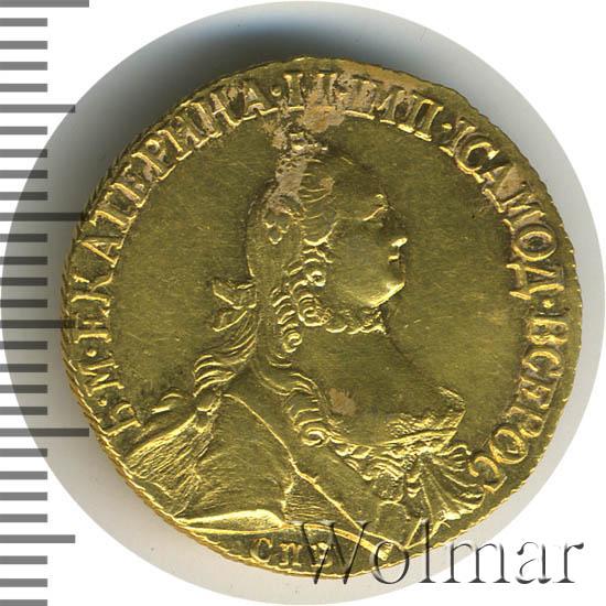 5 рублей 1764 г. СПБ. Екатерина II