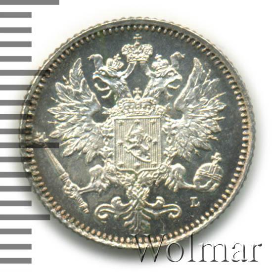 25 пенни 1894 г. L. Для Финляндии (Александр III)