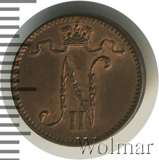 1 пенни 1905 г. Для Финляндии (Николай II)