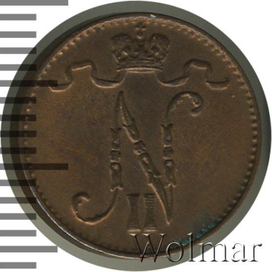 1 пенни 1911 г. Для Финляндии (Николай II)
