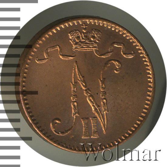 1 пенни 1912 г. Для Финляндии (Николай II)