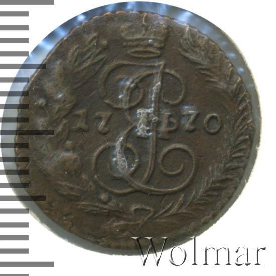 Полушка 1770 г. ЕМ. Екатерина II.