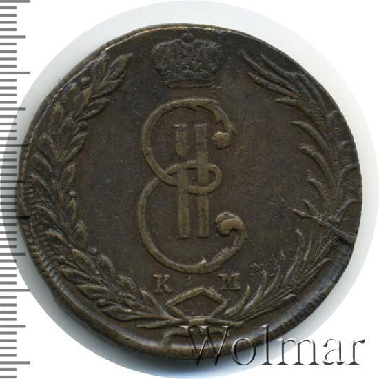 10 копеек 1770 г. КМ. Сибирская монета (Екатерина II). Тиражная монета