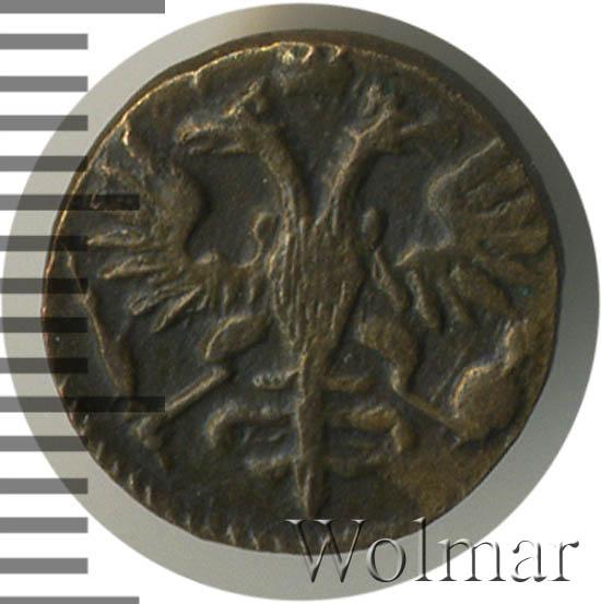 Полушка 1722 г. Петр I Кадашевский монетный двор