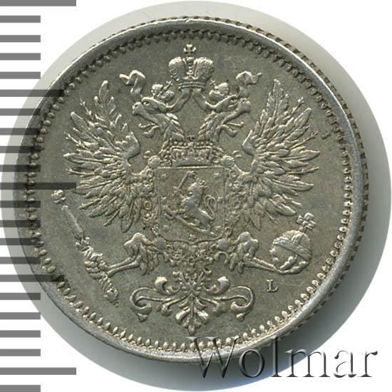 50 пенни 1890 г. L. Для Финляндии (Александр III)