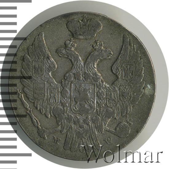 10 грошей 1839 г. MW. Русско-Польские (Николай I)
