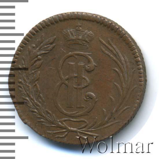 Полушка 1764 г. Сибирская монета (Екатерина II). Новодел
