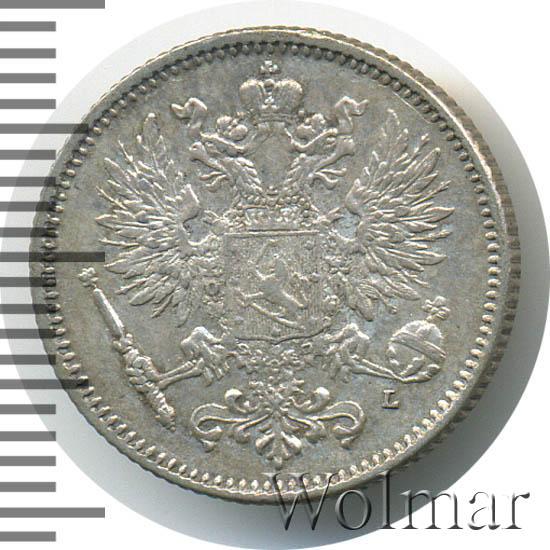50 пенни 1907 г. L. Для Финляндии (Николай II)