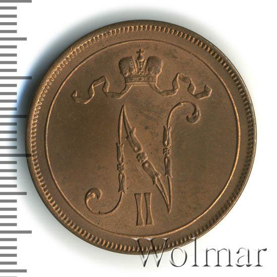 10 пенни 1913 г. Для Финляндии (Николай II)