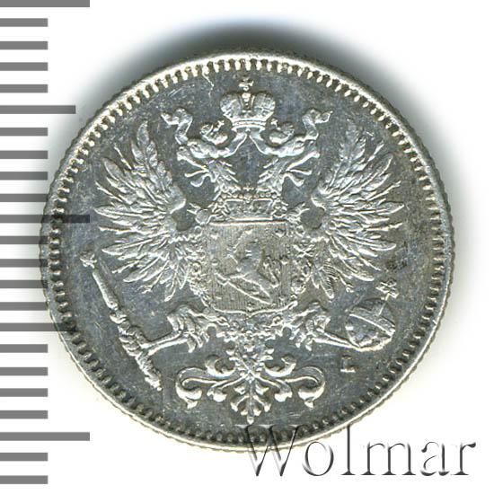 50 пенни 1892 г. L. Для Финляндии (Александр III)