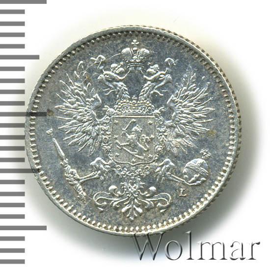 50 пенни 1893 г. L. Для Финляндии (Александр III)