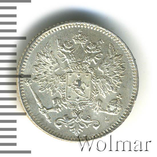 25 пенни 1898 г. L. Для Финляндии (Николай II)