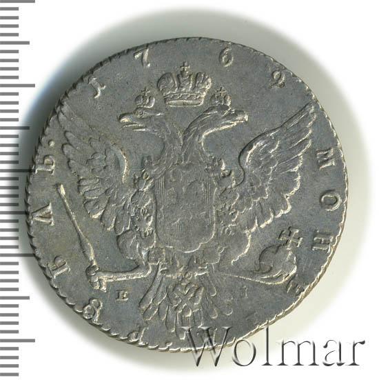 1 рубль 1769 г. ММД EI. Екатерина II. Красный монетный двор