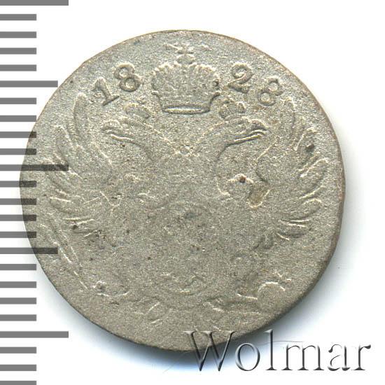 10 грошей 1828 г. FH. Для Польши (Николай I)