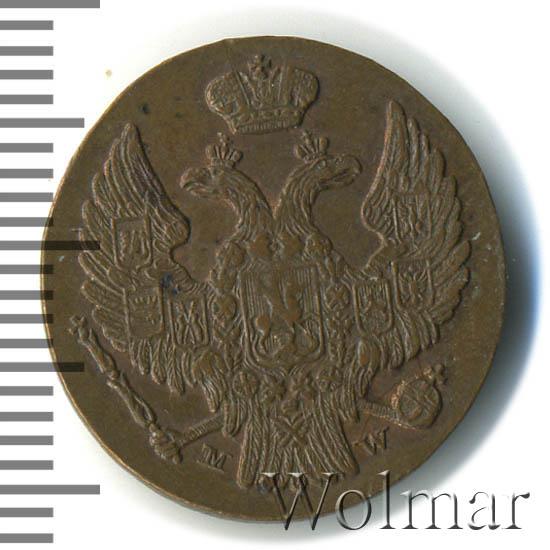 1 грош 1837 г. MW. Русско-Польские (Николай I) Хвост шире