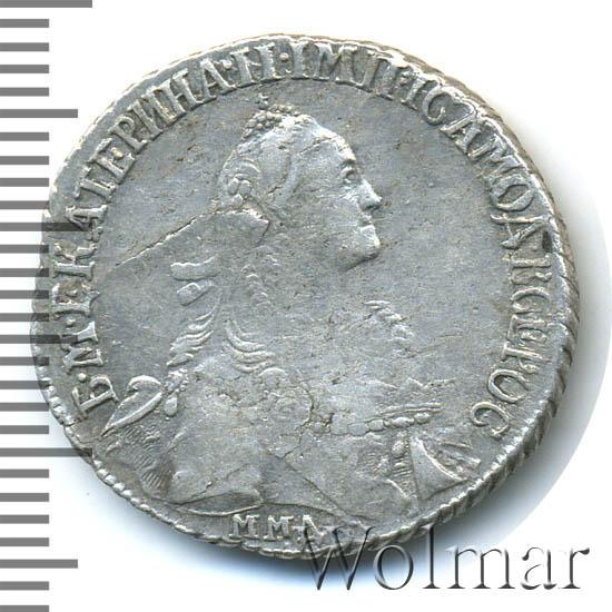 20 копеек 1769 г. ММД. Екатерина II. Красный монетный двор