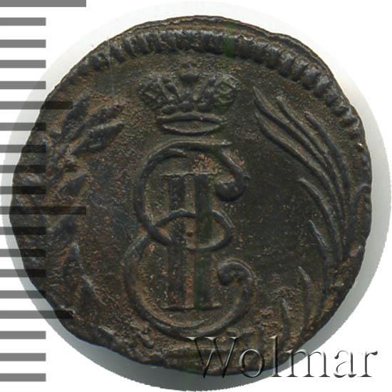 Полушка 1772 г. КМ. Сибирская монета (Екатерина II) Тиражная монета