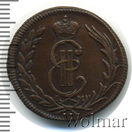 1 копейка 1774 г. КМ. Сибирская монета (Екатерина II). Тиражная монета