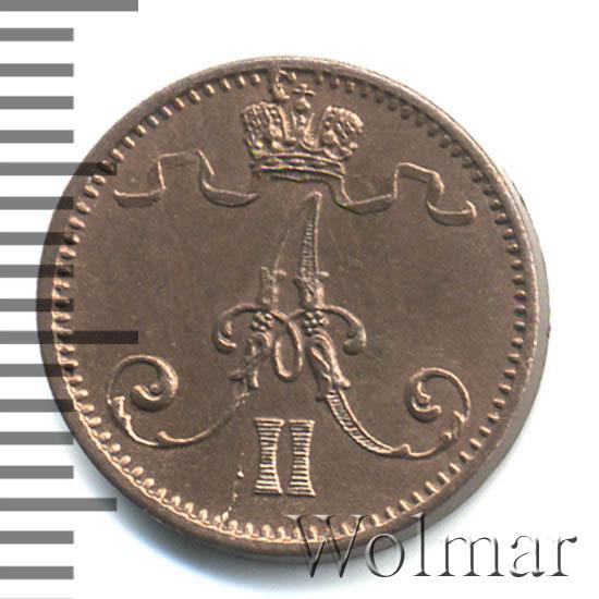 1 пенни 1873 г. Для Финляндии (Александр II)