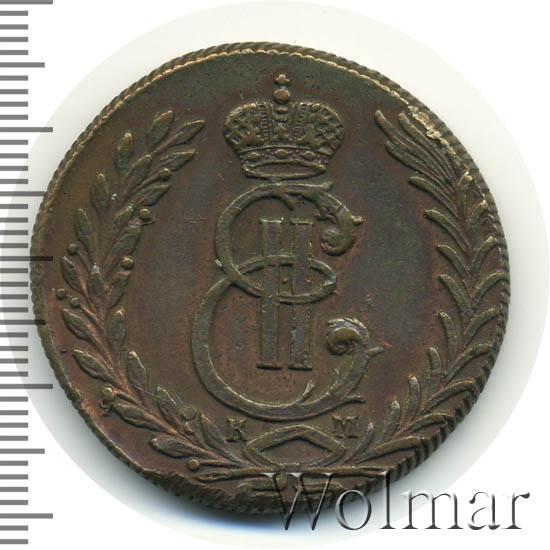 5 копеек 1778 г. КМ. Сибирская монета (Екатерина II). Тиражная монета