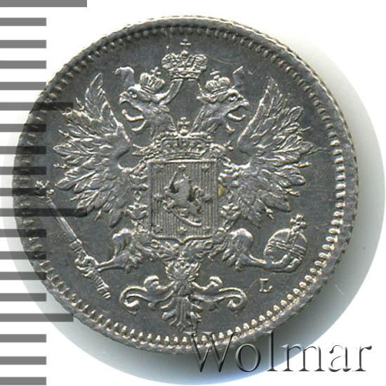 25 пенни 1890 г. L. Для Финляндии (Александр III)