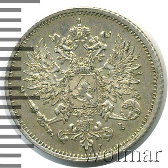 25 пенни 1906 г. L. Для Финляндии (Николай II)