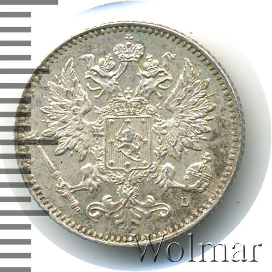 25 пенни 1901 г. L. Для Финляндии (Николай II)